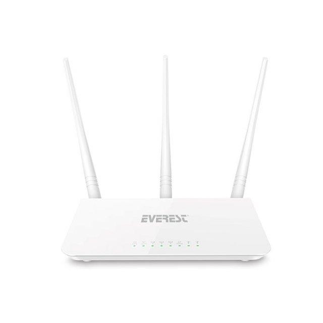 Everest EWR F303 2.4GHz 300Mbps 1Wan + 3Lan Portlu Wireless Router