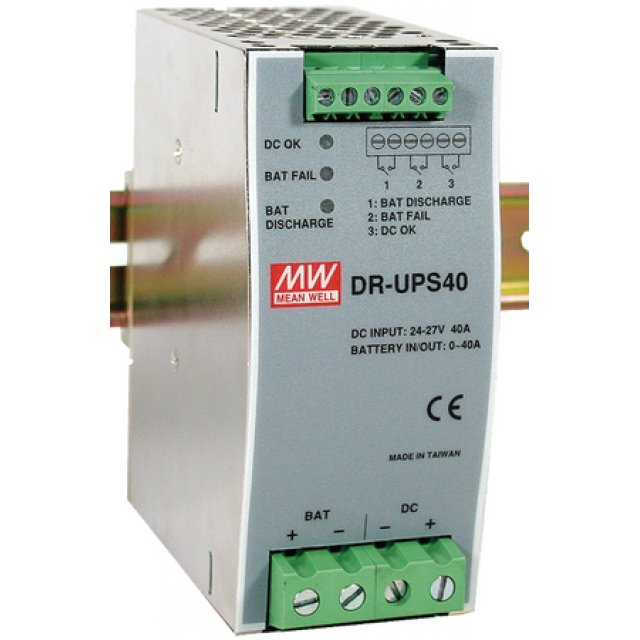 DR-UPS40, 24-29VDC RAY TİPİ UPS MODÜL