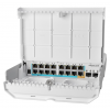 CRS318-1Fi-15Fr-2S-OUT netPower 15FR with RouterOS L5 license , 15 PoE IN ,1 PoE Out , 2 SFP
