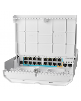 netPower 15 FR CRS318-1Fi-15Fr-2S-OUT DIS ORTAM POE SWITCH