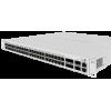 CRS354-48P-4SPlus2QPlusRM Cloud Router Switch 354-48P-4S+2Q+RM 48xGbit PoE+ , 4xSFP+,2Qsfp+ LCD ,L5 750W