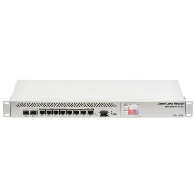 CCR1009-8G-1S-1S+ Cloud Core Router  SFP+