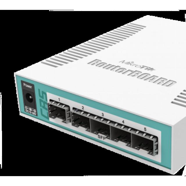 Cloud Router Switch CRS106-1C-5S  Fiber Switch 6 Port SFP