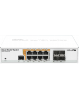 Cloud Router Switch CRS112-8P-4S  Poe ,Fiber Switch
