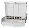 CRS318-16P-2SplusOUT netPower 15PoE with RouterOS L5 license , 16 PoE Out ,2x SFP+