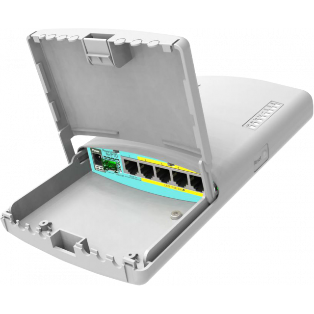 Mikrotik PowerBoxPro Outdoor Poe Switch / Router 802.3af/at
