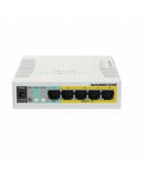 RB260GSP 4 Port Pasif Poe - 1 Port Poe In Gigabit / Fiber Destekli Switch
