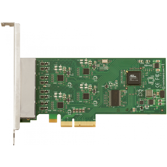 Mikrotik 4 Port Gigabit PCIe 4X Ethernet Kartı RB44Ge Qualcomm Atheros