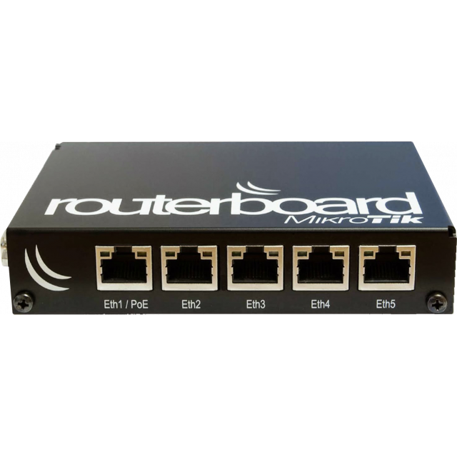 MikroTik Routerboard RB450G +KASA +POE Hazır Set Sistem