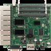 RB493G Mikrotik RB493, 9 Gigabit LAN, 3 miniPCI, RouterOS L5