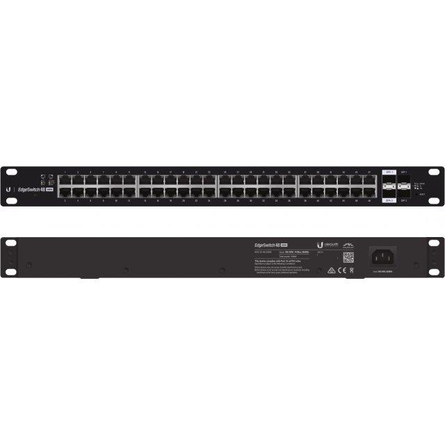 UBNT Ubiquiti EdgeSwitch ES-48-500W  48 Port Gigabit - 2 SFP + 2SFP+ Yönetilebilir PoE+