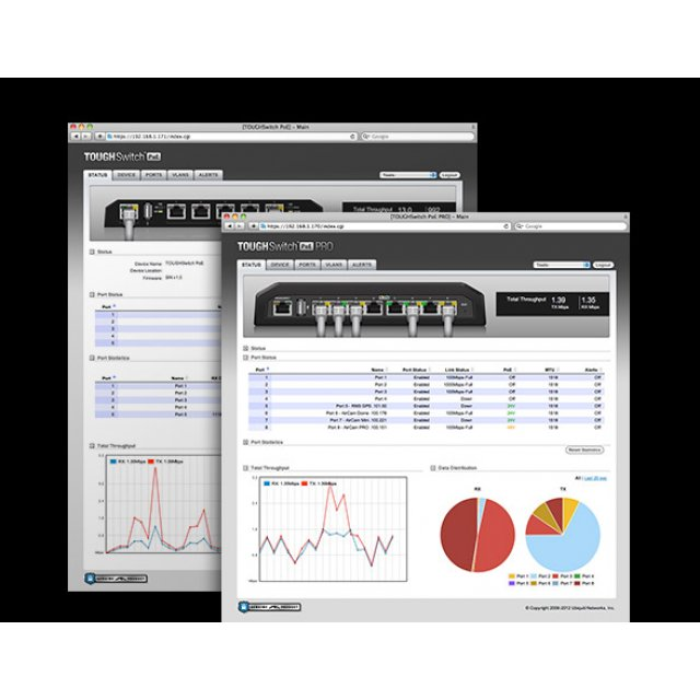 EdgeSwitch  8XP-  8 x Gbit  POE  (24v /48V ) (TS-8-PRO)