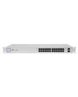Unifi Managed PoE+ Gigabit Switch with SFP,US-24-250W