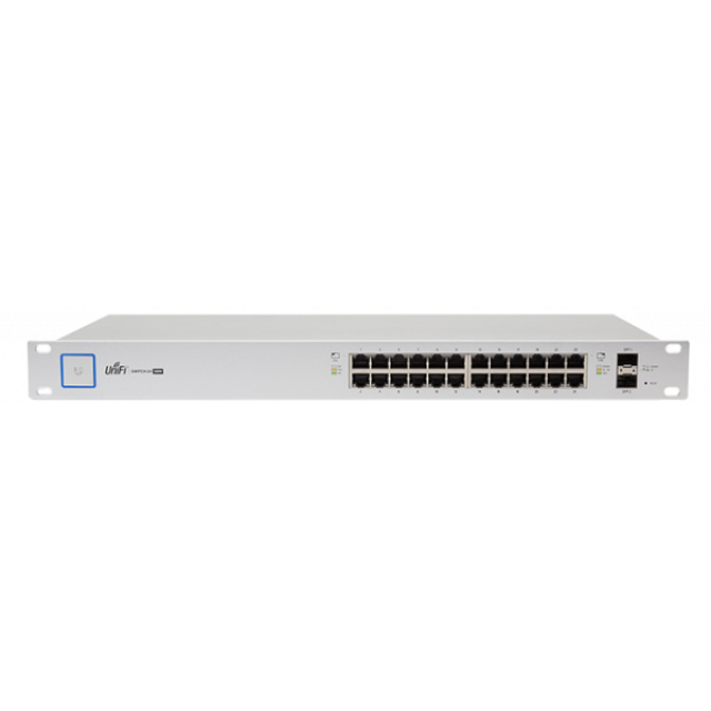 Unifi Managed PoE+ Gigabit Switch with SFP,US-24-500W