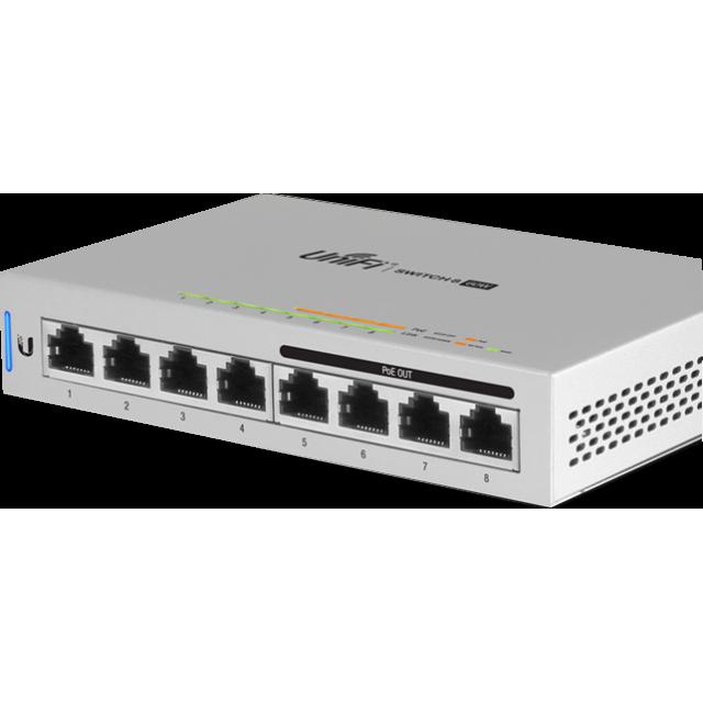 Unifi PoE+ Switch 8 Port ,SFP , 60W