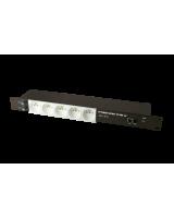 IP KONTROLLÜ 5 YUVALI PRİZ RACK TİPİ  SmartLAN Priz , Network Kontrollü Priz , Isı Sensörü