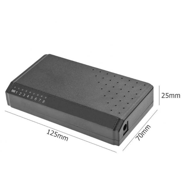 Winet Reverse Poe Switch  6+2 - 10/100 Mbit