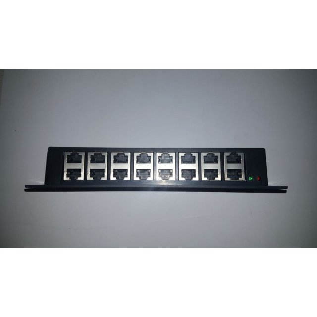 8 PORT Gigabit POE INJECTOR Panel / Yerli Üretim