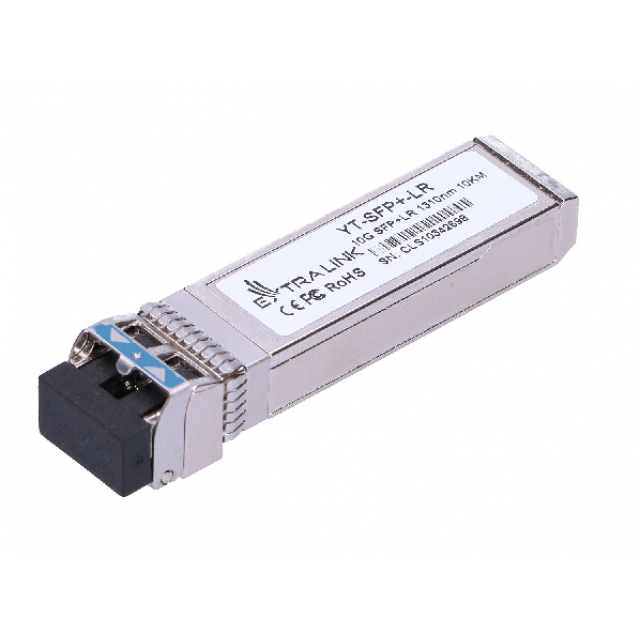 EXTRALINK SFP+ modül, 10Gbit Single Mod(SM) 10km 1310nm