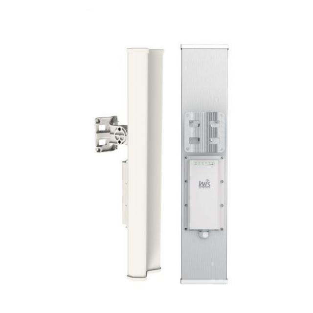 WisNetworks WIS-L2415S 2x2 Mimo 2.4 GHZ 120 derece dahili sektorlü antenli Baz Istasyonu