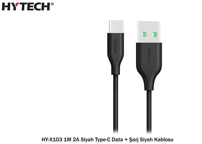 Hytech-HY-X103 Hytech-HY-X103 Type-C USB 2Amper 1 Metre Kablo
