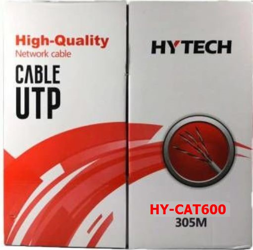 EVEREST-HY-CAT600 HYTECH HY-CAT600 305m GRİ UTP CAT6 Kablo