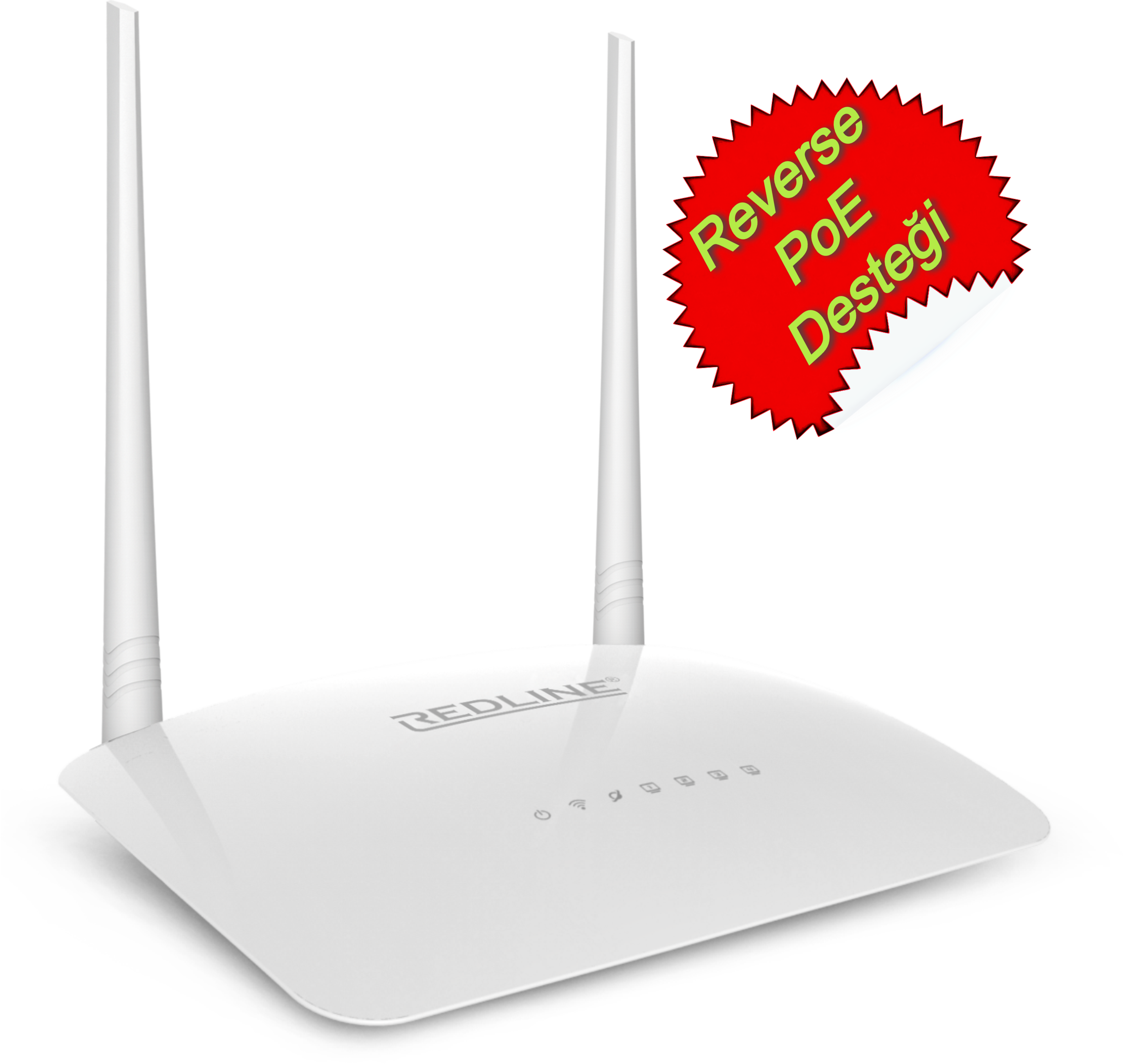 RL-WR1220P REDLINE RL-WR1220P PoE 24V WPS + WISP+WDS 300 Mbps Repeater+Access Point+Bridge Kablosuz Router