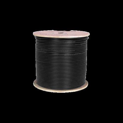 WISS-EKO-CAT5-305 305m 25AWG 0.49mm EKO SIYAH CAT5E-FTP - DIŞ ORTAM Kablo