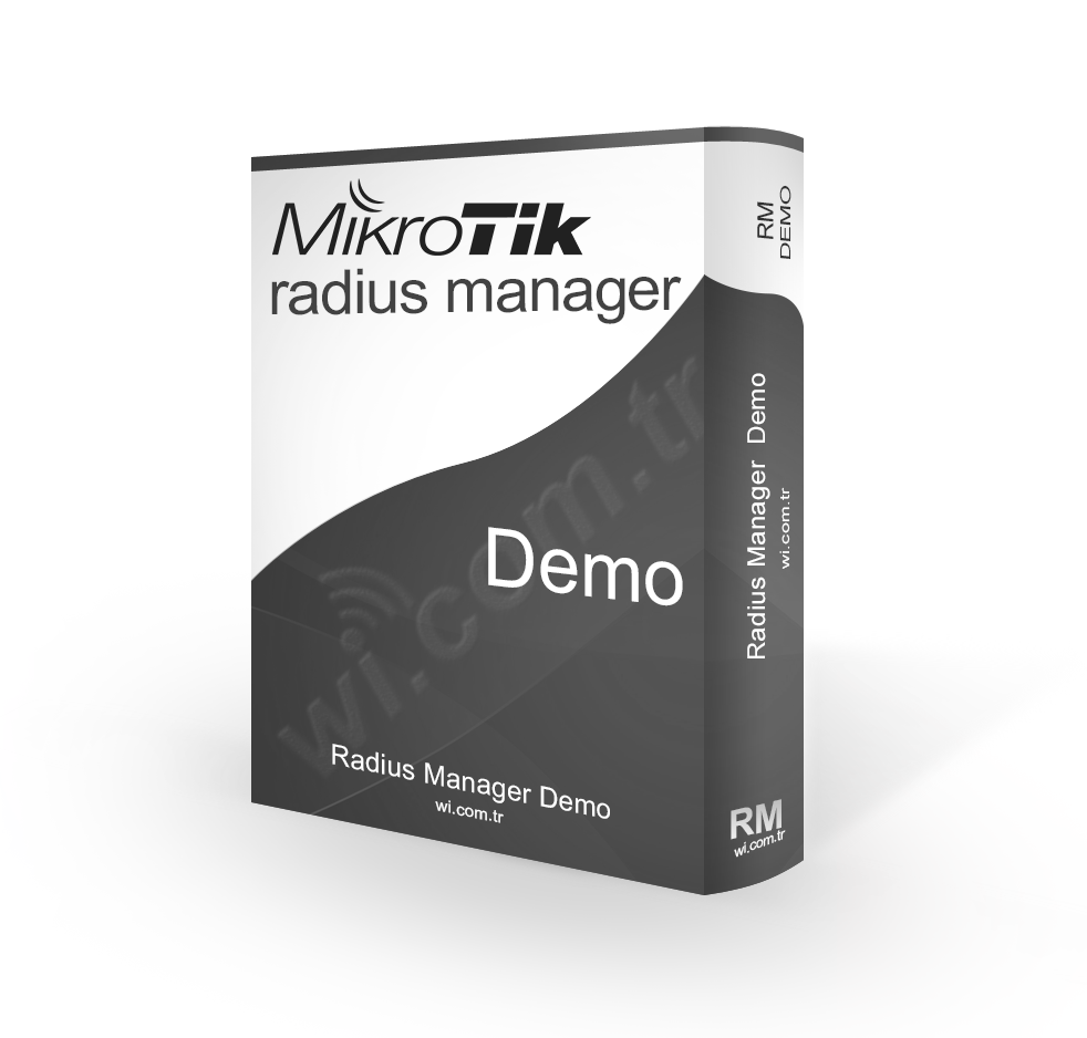 RadiusManager-Demo Radius Manager - 30 Gün Demo