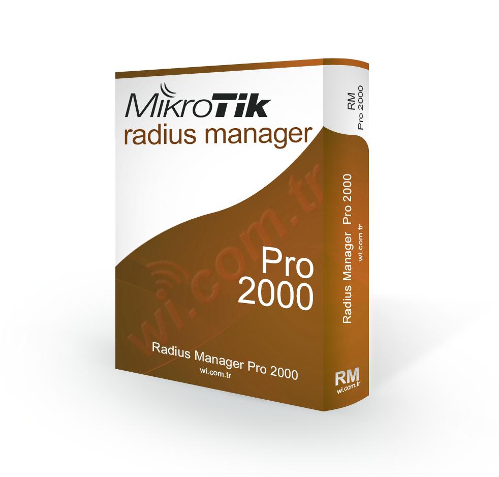 RadiusManager-PRO RADIUS MANAGER YAZILIM LISANSI - PRO 2000 KULLANICI
