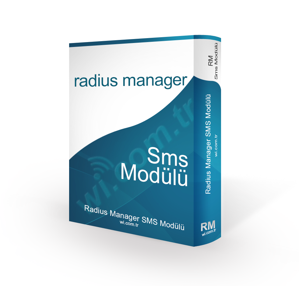 RadiusManager-SMS RADIUS MANAGER SMS MODULU STANDART