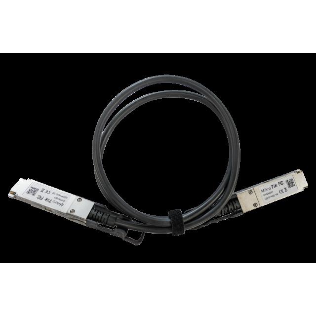 Q-DA0001 Mikrotik Q+DA0001, QSFP+, 40 Gbit, Patch Kablo 1Metre ( Direct Attach Cable )