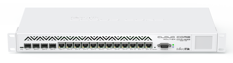 CCR1036-12G-4S Cloud Core Router 1036-12G-4S 12xGbit LAN, 4xSFP, LCD, L6 Firewall / Router
