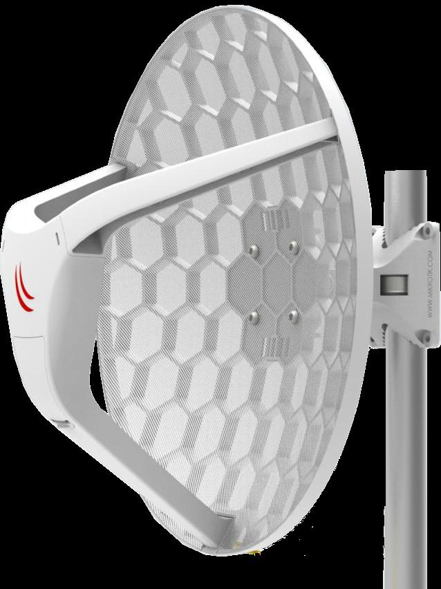 RBLHGG-60ad Mikrotik RBLHGG-60ad ,LHG 60 G , 60 Ghz GBIT Mbit CPE & LINK L3