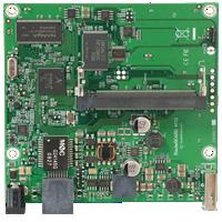 RB411AH RouterBOARD 411 1 LAN, 1 miniPCI, RouterOS L4