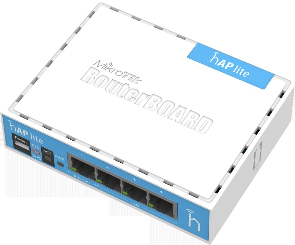RB941-2nD Mikrotik RB941-2nD hAP Lite 2x2 Mimo 2.4 Ghz 802.b/g/n Wifi AP L4