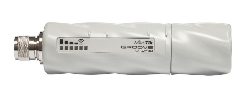 RBGrooveGA-52HPacn Mikrotik RBGrooveGA-52HPacn, 2.4Ghz-5Ghz DUAL Band, 802.11a/b/g/n/ac ,L4