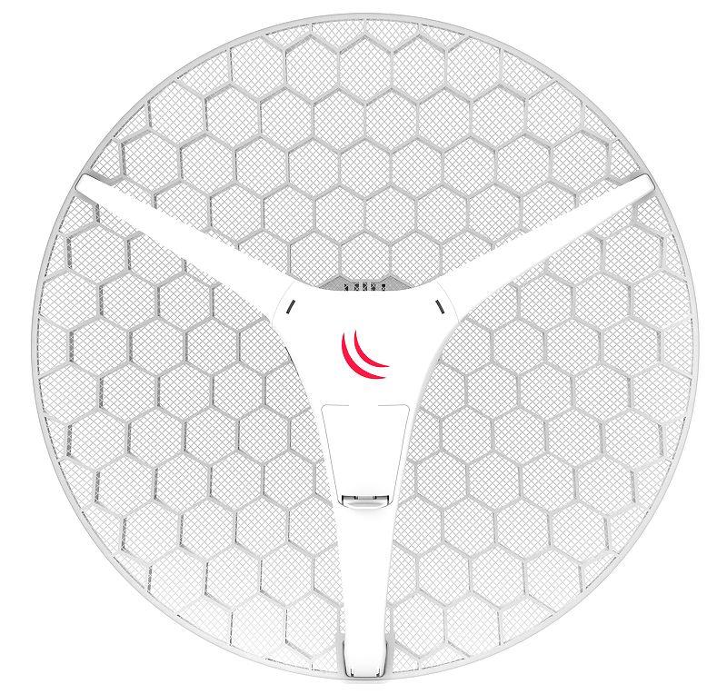 RBLHGG-5acD-XL Mikrotik RBLHGG-5acD-XL, 5 Ghz 27dBi Dish Anten, 2x2 802.11an Wifi L3