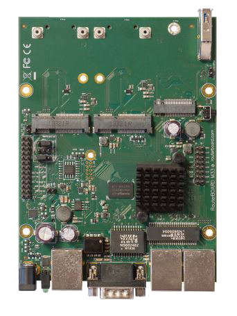 RBM33G RBM - Powerful OEM board with three Gigabit LAN and two miniPCIe slots