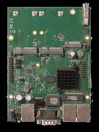 RBM33G RBM - Powerful OEM board with three Gigabit LAN and two miniPCIe slots