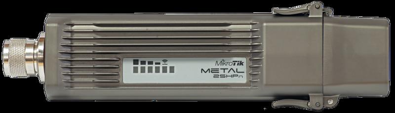 RBMetal2SHPn Mikrotik RBMetal-2SHPn , 1 LAN, Yüksek Çıkışlı 2.4 Ghz 802.11b/g/n Verici / AP 1600 mWatt