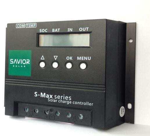 SL-SSV-MAX-20A Savior Solar PVM özellikli solar şarj cihazı 20A - 12/24V