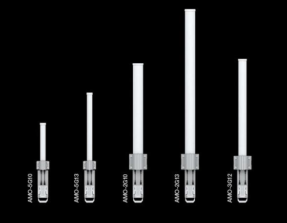 AMO-5G13 Ubiquiti 5 GHz AirMax 13dBi 360 Derece Omni Anten