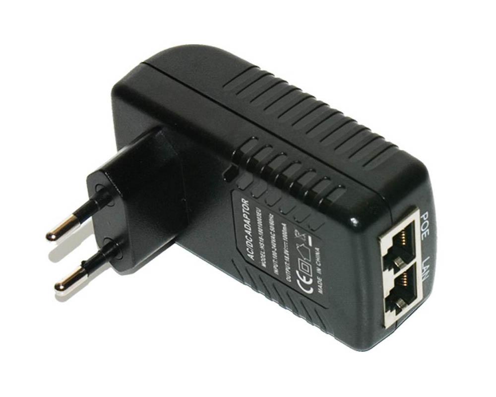 OEM-POE-24-1A Gigabit POE Adaptör+Injector, 24V 1A 24 WATT