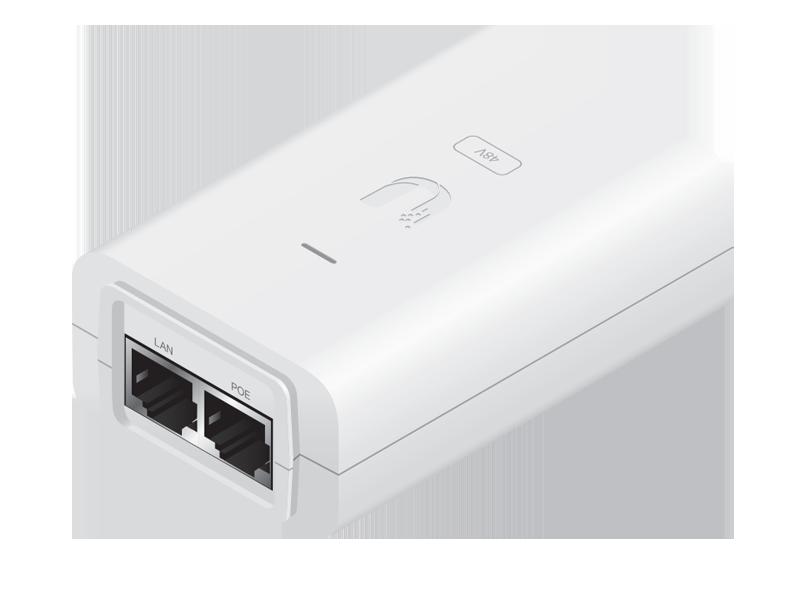 POE-48-24W-G-WH POE-48-24W-G-WH Adaptor - 48V - 0.5A Gigabit Beyaz