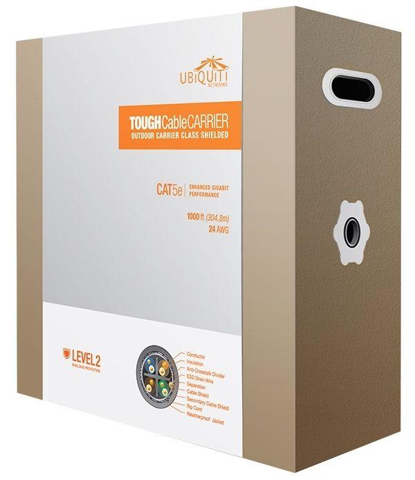 TC-Carrier Ubiquiti TOUGH Cable, Level 2 (305mt) Outdoor Cat-5e Premium Shileded