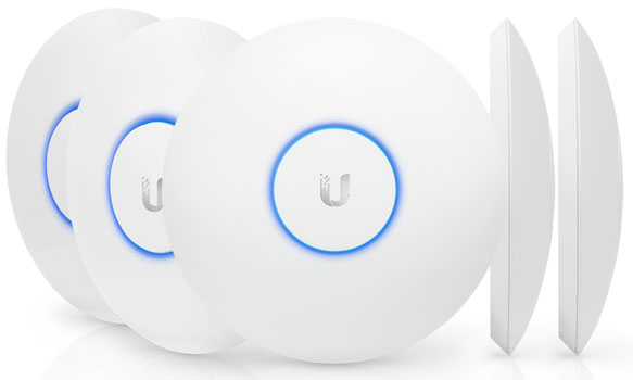 UAP-AC-PRO-5 UniFi AC-PRO - 2.4 - 5 Ghz Dual Band AC Pro IN/Outdoor AP 3x3 MiMo 5 LI PAKET