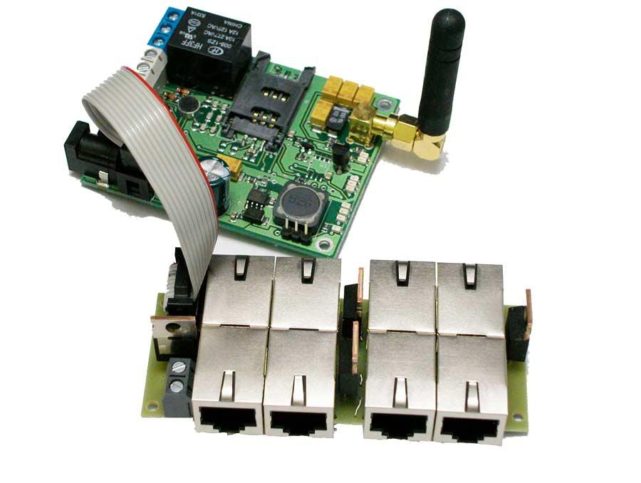 LAN-ROLE-EK-POE LAN GSM EK POE Modülü