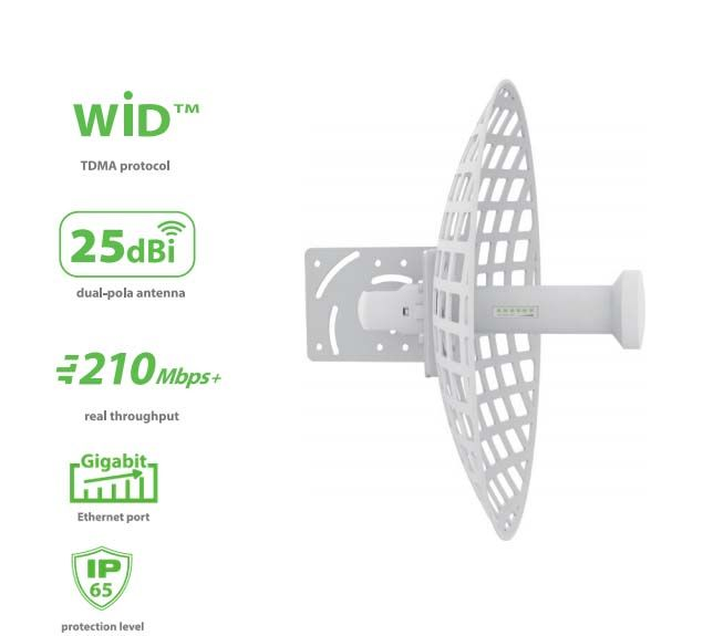 WIS-G5250 WisNetworks WIS-G5250 5 GHz Outdor Hi-Power AP