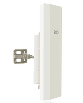 WIS-L2416S WisNetworks WIS-L2416S 2.4 GHz Outdor Hi-Power AP +90 derece Entegre sektor anten
